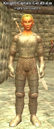 Knight-Captain Gerathalas