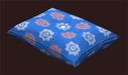 Patterned-blue-pillow