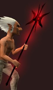 Shadowfire Greatstaff (Equipped)