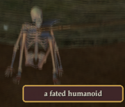 A fated humanoid