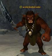 An elite Krulkiel raider