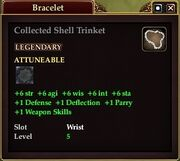 Collected Shell Trinket
