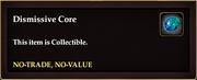 Dismissive Core