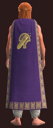 Formal Cloak of the Alchemist worn