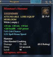 Minotaur's Hammer