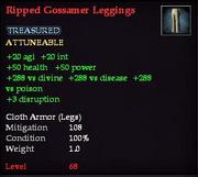 Ripped Gossamer Leggings