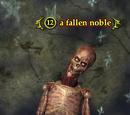 A fallen noble
