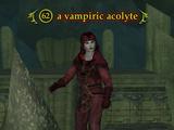 A vampire acolyte