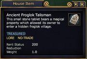 Ancient Froglok Talisman