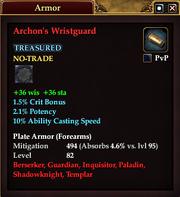 Archon's Wristguard