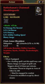 Battleshaman's Chainmail Shoulderguards