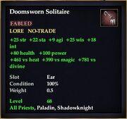 Doomsworn Solitaire