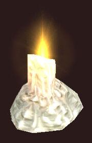 Melting-candle