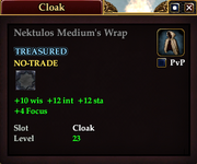 Nektulos Medium's Wrap
