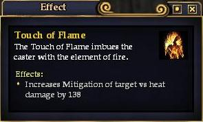 Touch of Flame