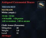 Antiqued Ceremonial Bracers