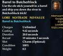 Barrel to Butcherblock