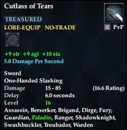 Cutlass of Tears
