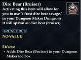 Dire Bear (Bruiser)