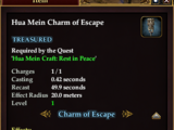 Hua Mein Charm of Escape