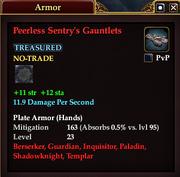 Peerless Sentry's Gauntlets