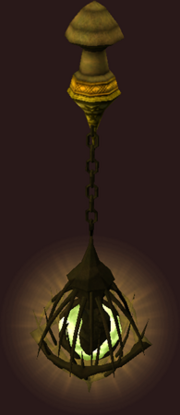 Swinging Temple Lamp (Placed)