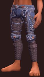 Vesspyr Workman's Blue Leggings (Equipped)