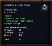 Ahketian Mythic Cowl