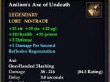 Anilom's Axe of Undeath