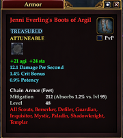Jenni Everling's Boots of Argil
