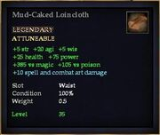 Mud-Caked Loincloth