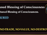 Unattuned Blessing of Consciousness