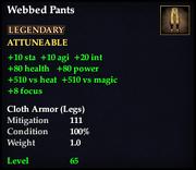 Webbed Pants