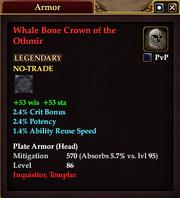 Whale Bone Crown of the Othmir