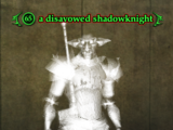 A disavowed shadowknight