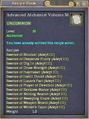 Advanced Alchemist Volume 30