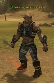 An elite Bloodskull Mahut mender