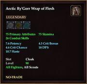 Arctic Ry'Gorr Wrap of Flesh