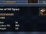 Box of Nil Space