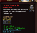 Lucanic Tunic of the Stormcaller