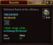 Polished Band of the Alliance