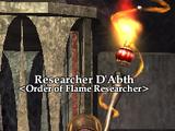 Researcher D'Abth