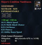 Slayer's Combine Vambraces