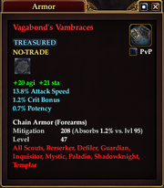 Vagabond's Vambraces