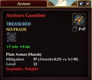 Archon's Gauntlets