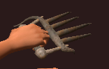 Imbued Iron Claws (Equipped)