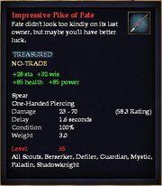 Impressive Pike of Fate