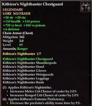 Kithicor's Nighthunter Chestguard