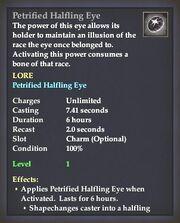 Petrified Halfling Eye
