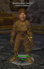 Quartermaster Lysslyn